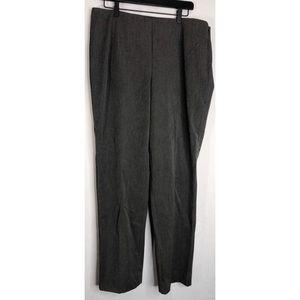 New Talbots gray 14 work dress slacks pants